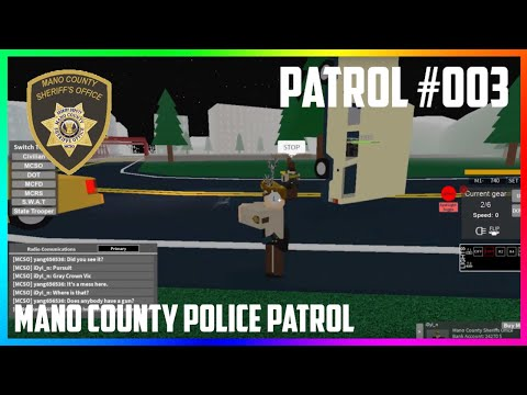Full Download] Roblox Mano County Police Patrol Episode 8
