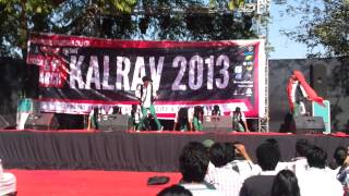 v defyn iit delhi at kalrav 2013 annual fest of dduc