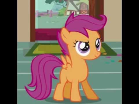 Voice Acting My Little Pony Scootaloo Youtube In the hole on her helmet her mane seems to be human scootaloo: youtube