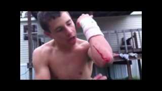 Trampoline Wrestling: KBW- KAGE vs. ??? NO HOLDS BARRED (TITLE) thumbnail