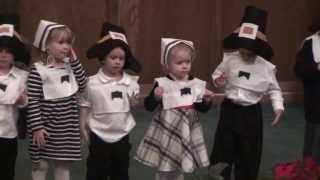 The Robot Song - WBC Preschool Thanksgiving Program 2013