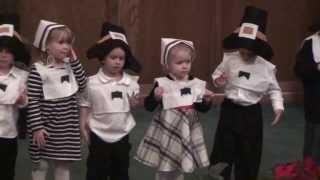 The Robot Song - WBC Preschool Thanksgiving Program 2013