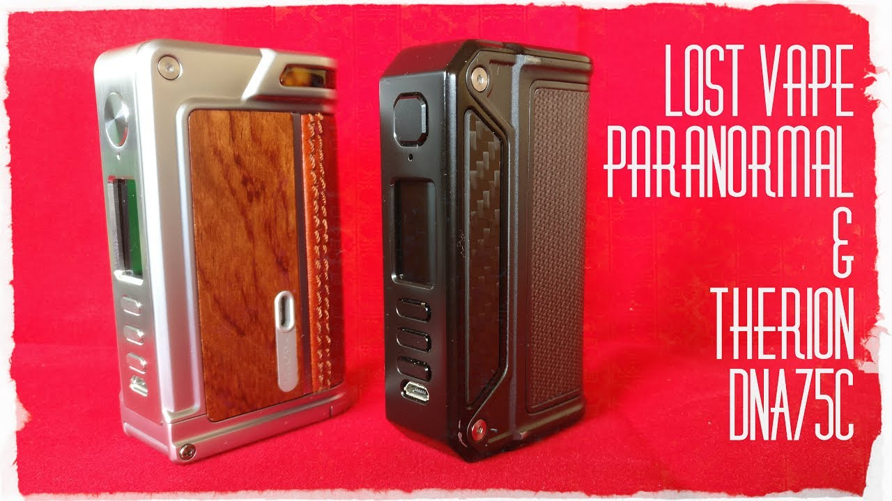 paranormal 75c by lost vape uk