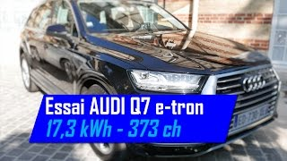 New Audi Q7 e-tron Plugin-Hybrid PHEV FULL REVIEW test driven 2016 - Autogefühl