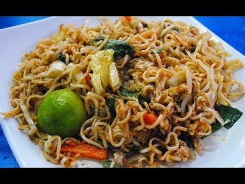 Resipi Maggi Goreng Mamak Malaysian Street Food Fried Maggi Noodle Yummy Quick Easyindian Style