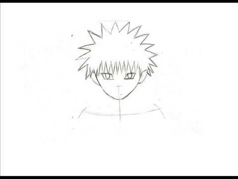 Dessiner Personnage De Manga Facile A B Youtube