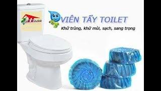 Viên tẩy rửa diệt khuẩn và khử mùi toilet