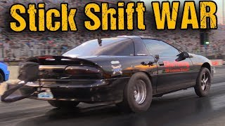 The Baddest Stick Shift Machines in the Country THROW DOWN in Charlotte!