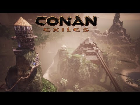 Conan Exiles - Jungle Pyramid (Speed Build)