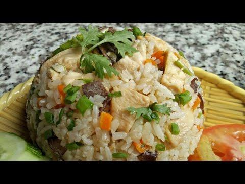 Cơm Gà Áp Chảo – Cách làm CƠM RANG THỊT GÀ – Món Ăn Ngon Mỗi Ngày