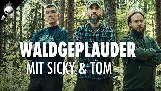#WALDGEPLAUDER mit Sicky & Tom – Ausrüstung testen, Wollbekleidung, Pflege der Bushcraft Ausrüstung