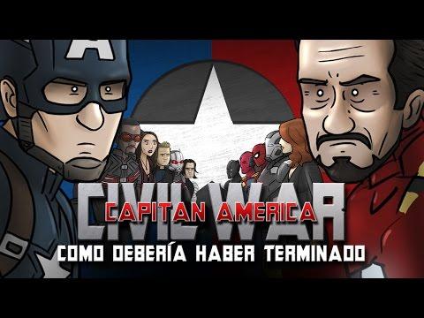 Como Capitán América: Civil War Debería Haber Terminado