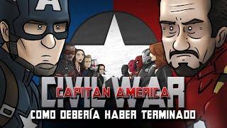 Como Capitán América: Civil War Debería Haber Terminado thumbnail