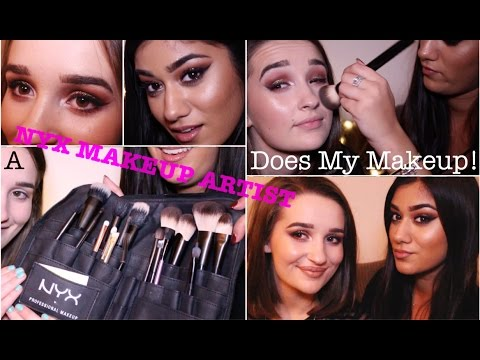 a nyx makeup artist does my makeup one brand tutorial nyx.