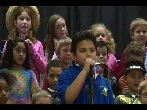 "Bessie Weller Elementary School ""The U.S. is US!""  Feb 2018 Part 1"