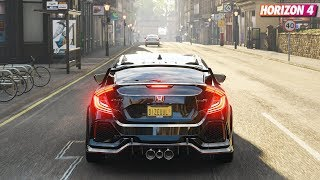 Forza Horizon 4 - Honda Civic Type R 2018 | Gameplay