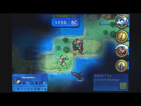 Civilization Revolution IPhone Gameplay Video Review - AppSpy.com