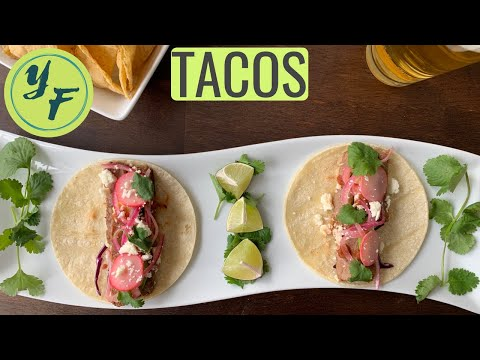 STEAK STREET TACOS Recipe Video With Pickled Onions How To