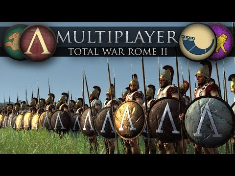 The Spartans March to War  (Total War: Rome 2 Online Battle #263)