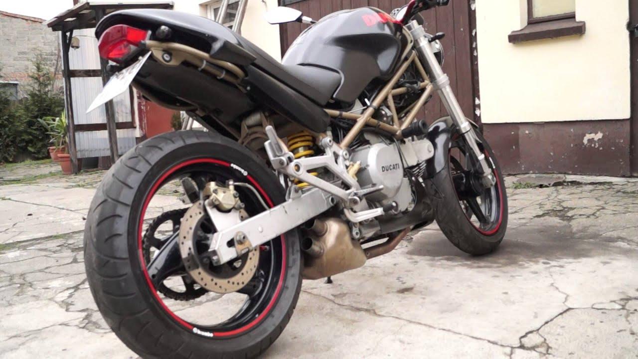 ducati monster 600 sound boomtubes loud - youtube