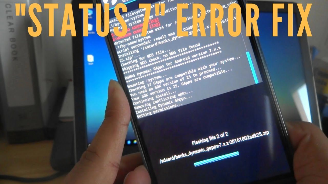 Error 7 during Lineage OS installation | Page 2 - OnePlus Community