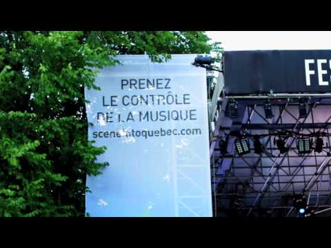 Loto-Québec - Exploitation au Festival d'été de Québec - Jukebox digital par Piranha
