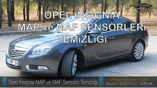Opel / Vauxhall insignia MAP ve MAF Sensörü Temizliği