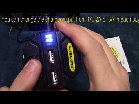 Nitecore V2, 6A Max  Speedy Car Charger Review!