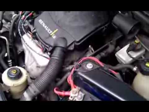 заводка двигателя renault k7j