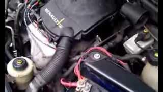 Неровная работа двигателя рено логан 1.6l(На холодную машина заводилась с пол оборота,но через 5-7 секунд начинает работать с перебоями как мотор прог..., 2014-02-12T12:40:16.000Z)