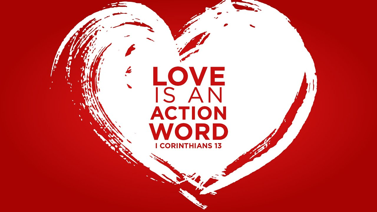 Image result for love is an action word