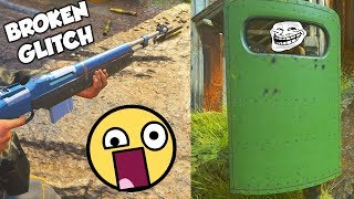 this GLITCH is BEYOND BROKEN!! 😲 (Infinite Riot Shield & Bayonet Charge) - COD WW2