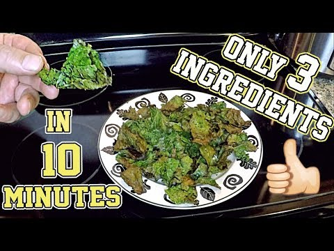 �� Quick & Easy Homemade Kale Chips! Air Fryer Recipe ��
