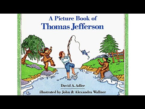 A Picture Book of Thomas Jefferson By David Adler in HD