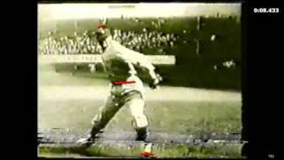 Pitching Mechanics Walter Johnson