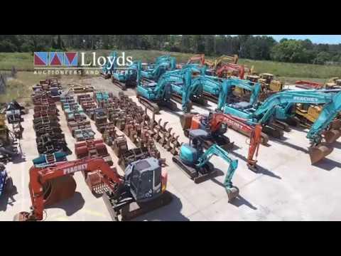 Multi Million Dollar Earthmoving Auction - Lloyds Auctions