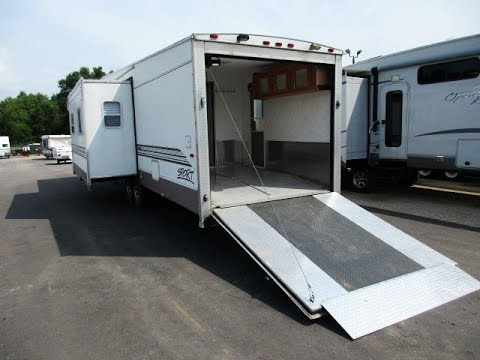 HaylettRV com - 2003 Play-Mor M372 Used Fifth Wheel Toy Hauler with  Surprise Testimonial