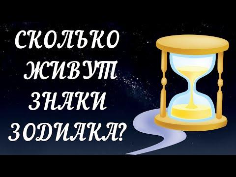 СКОЛЬКО ЛЕТ ЖИВУТ РАЗНЫЕ ЗНАКИ ЗОДИАКА? КТО САМЫЙ ГЛАВНЫЙ ДОЛГОЖИТЕЛЬ?