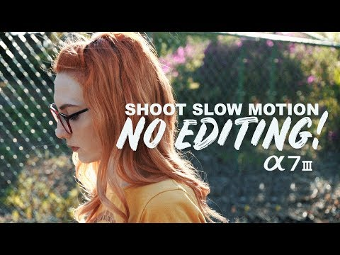 Shoot Beast Slow Motion In Camera No Editing! Sony A7iii