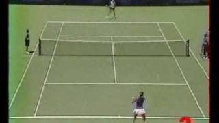 Monica Seles amazing point against Sandrine Testud 1999