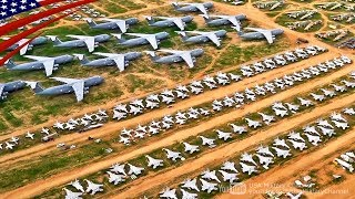 【その数なんと5,000機!】退役した大量の軍用機が眠るデビスモンサン空軍基地