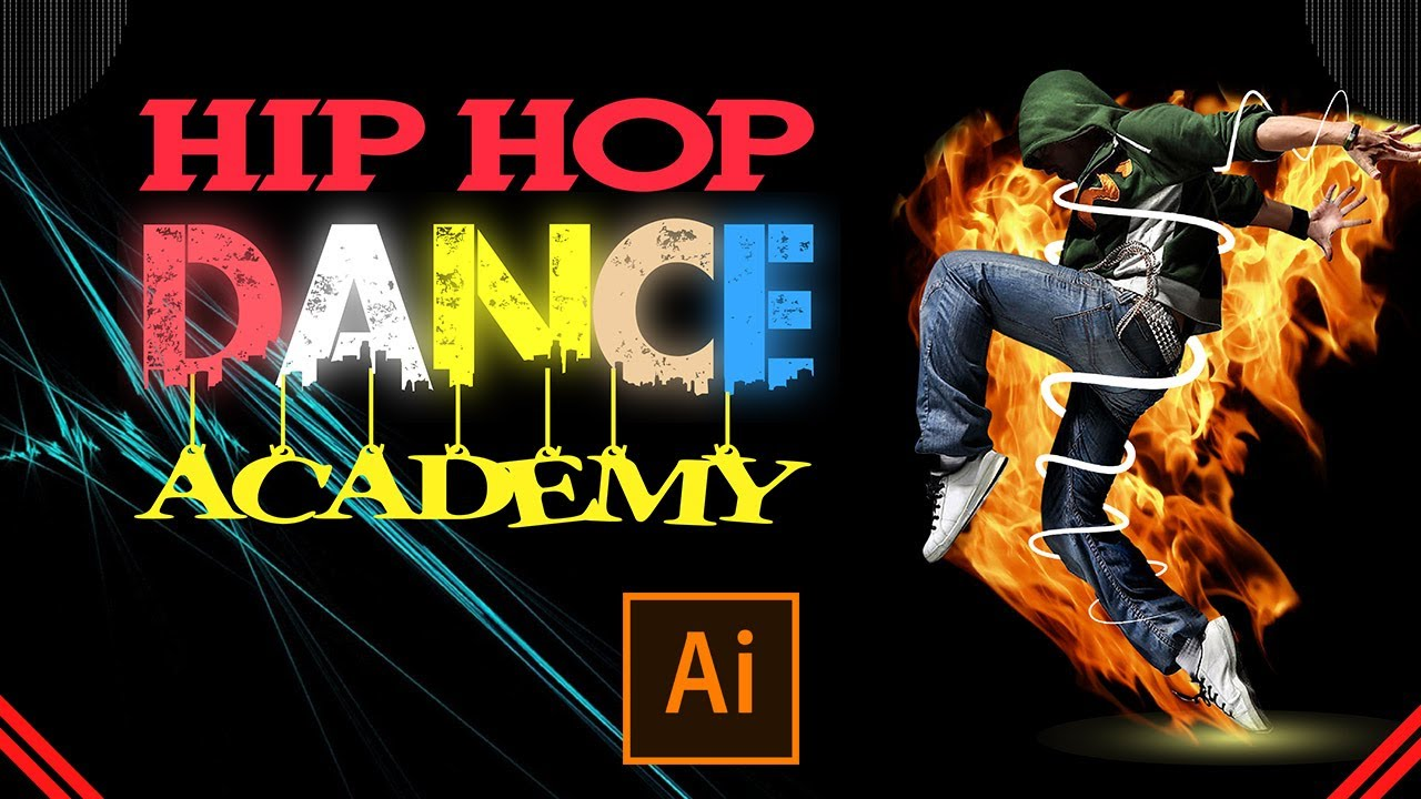 Poster Design For Dance Academy Banner Design Youtube