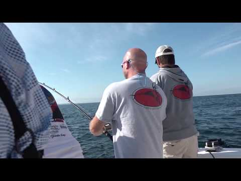 Massive Salmon Fishing Tournament Out Of Ludington, MI