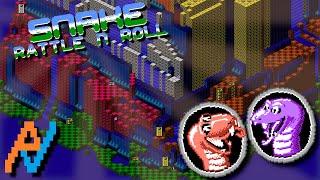 NES Atlas: Snake Rattle N Roll (Full TAS by Aglar)