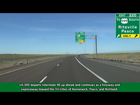 2K14 (EP 35) Interstate 90 in Washington: The Columbia Plateau