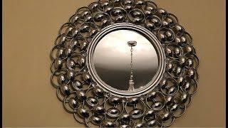 Dollar Tree DIY || Silver Decorative Wall Mirror