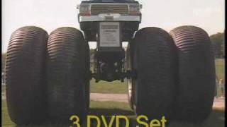 MONSTER TRUCKS CLASSIC CRASHES DVD VIDEO