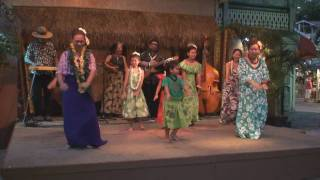Hula performance  by Hula Halau
