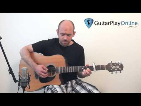 Apenas mais uma de amor (Lulu Santos) - Violão Fingerstyle (Acordes e Melodia juntos no violão)