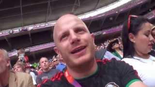 Facundo en la final del fútbol olímpico   Selección Mexicana